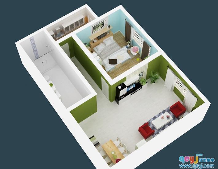 幼儿园俯视平面设计图