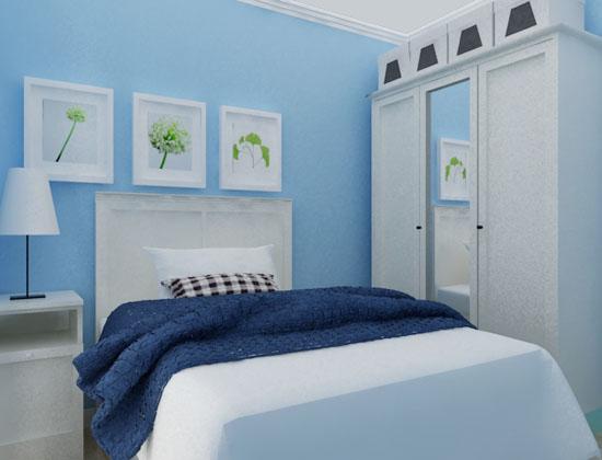 小卧室榻榻米装修效果图#; 彩色墙漆效果图