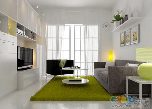 平房室内设计效果图 乡村平房设计效果图 一层平房设计效